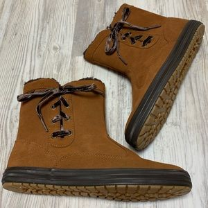 NEW Keds Chestnut Suede Boots 7